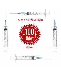 5 ML. enjektör 100 lük