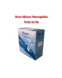 Acon Mission Hemoglobin Stribi 50 li