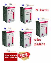 Easylife hemoglobin stribi 5 kutu