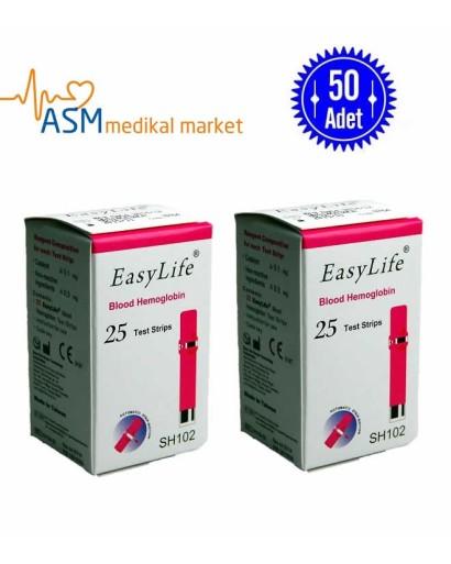 Easylife Hemoglobin Stribi 2 kutu
