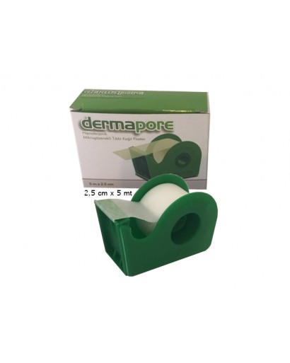 Kağıt Flaster 2,5 cm x 5 mt Dermapore