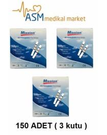 Mission hemoglobin stribi eko paket ( 3 kutu )