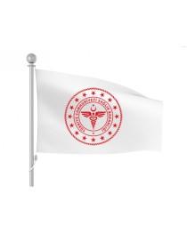 Yeni logolu Kızılay Bayrağı