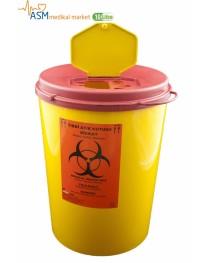 Tıbbi atık kovası 10 LT. | Tıbbi enjektör atık kutusu 10 LT