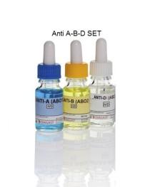 Kan Grubu Tayini Takımı Seti - Anti A, B, D