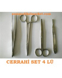 Cerrahi Set 4 lü