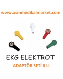 EKG Elektrot Adaptörü, çıt çıt adaptörü