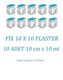 Toptan Fix 10 x 10 Unipore Flaster 10 kutu